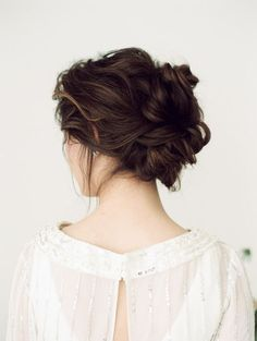 lovely loose updo