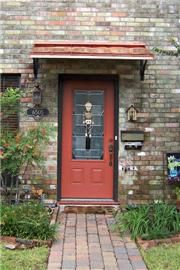 Project Gallery - Metal Canopy Design - Design Your Awning Metal Door Awning, Copper Awning, Front Door Awning, Porch Awning, Window Awnings, Front Doors, Copper House, Fabric Awning, Gazebo Pergola