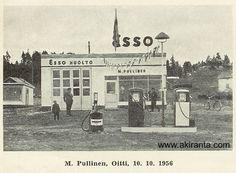 Vuonna 1952 perustettiin Suomeen huoltamoyrittäjien yhdistys Esso Dealer r.y. Oitin uusi huoltoasema ESSON Dealer -lehdessä 1956. kuva316.jpg