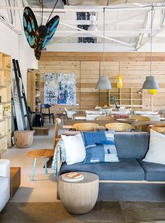 Mark Tuckey's Newport showroom