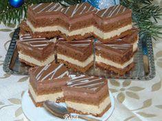 Rozi Erdélyi konyhája: Kapuciner szelet Tiramisu, Food And Drink, Ethnic Recipes, Cukor, Kuchen, Tiramisu Cake
