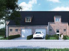 Nieuwbouw • klassiek • garage • dakkapel • Foto: www.sibomat.be