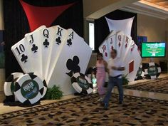 Centerpiece Decorations For Poker Parties And Casino Themed | Cars ...