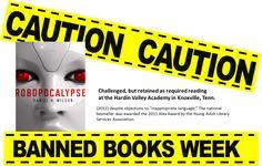 ban book, robopocalyps