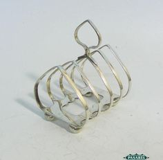 George V Sterling Silver Toast Rack Joseph Rodgers & Sons Sheffield England 1931 #JosephRodgersSons