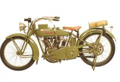 "George Pardos Collection ""Evolution of the Harley-Davidson Motorcycle"": 1917 Harley Davidson Model J"