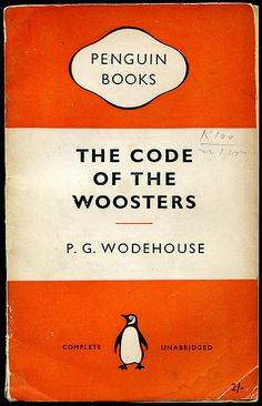 The Jeeves and Wooster books are always worth rereading. #Wodehouse