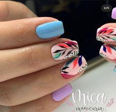Cute Gel Nails, Chic Nails, Stylish Nails, Trendy Nails, Manicure, Sassy Nails, Pointed Nails, Cute Nail Art Designs, Powder Nails