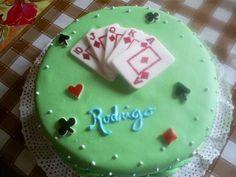Torta juego cartas