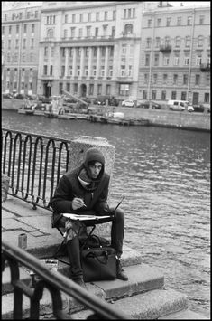 RUSSIA. Saint - Petersburg. 2017. Artist