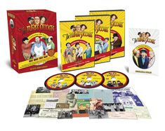 Order by midnight 6/8/18 for Father's Day! The Three Stooges Collector's DVD Series: Hey Moe! Hey Dad! - FREE SHIPPING. Perfect Father's Day gift