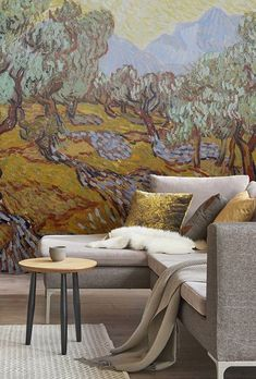 b45f50f0b49344 Olive garden • Living room - Contemporary - Wall Murals - Nature - Art    lifestyle • Pixers® • We live to change