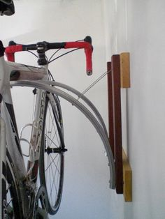 recycled bicycle parts bike rack
