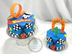 Hot Wheels Cake and Smash Cake