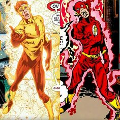 How did I not notice this before?!?! Wally's return in DC's Rebirth is referencing to Barry in Crisis on Infinite Earths!!!  #SonGokuKakarot