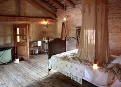 Locanda Rosa Rosae Inn, Italy  This very romantic inn considers all the details and provides a luxurious, back-to-basics hideaway. Website