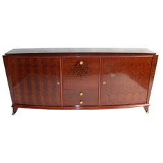 Fine French Art Deco Sideboard | From a unique collection of antique and modern sideboards at http://www.1stdibs.com/furniture/storage-case-pieces/sideboards/