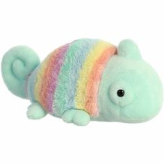 If you are looking for a rainbow plush chameleon that will help you shine through with your true colors, then you and the Rainbow Pastel Chameleon Stuffed Animal by Aurora might be a match. Pikachu, Cute Stuffed Animals, Dinosaur Stuffed Animal, Totoro, Ciel Pastel, Gothic Home, Zack Y Cody, Winnie, Cute Plush