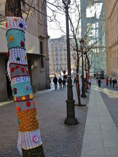 Madrid Diferente se suma al Urban Knitting