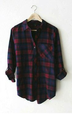 Plaid is all is need. - shirts, polo, christmas, band, pink, oversized shirt *ad
