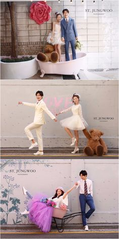 Korean pre-wedding photography - ST Jungwoo 2017 Collection - Kissing You - Outdoor, Fun, Casual