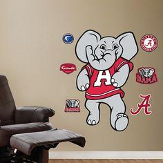 Alabama Crimson Tide Mascot - Big Al - Alabama Crimson Tide - College Sports