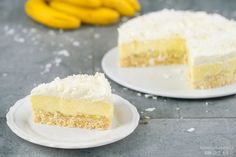 Kokos-Bananen-Kuchen ohne Backen / Coconut Banana Dream