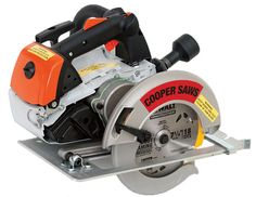 Now this is a circ-saw. But really, with that sort of power, it should be pushing a 10 inch blade.