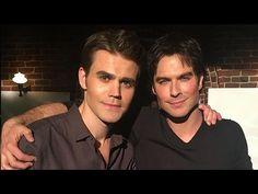 The Vampire Diaries Cast Shares EMOTIONAL Goodbyes On Final Day of Shooting - YouTube