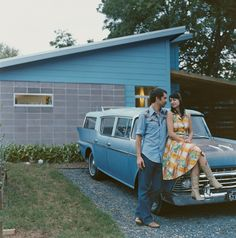 """Regina and Andy Rihn weren't exactly modernists when they first began their frustrating, unproductive slog through the pricey Austin, Texas, real estate market. """"We just liked things that were old and wood,"""" Andy says. """"That was our aesthetic."""" But thankfully for them, the first-time homebuyers got lucky."""