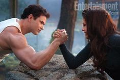 Twilight, Kellan Lutz, Kristen Stewart. Breaking Dawn 2