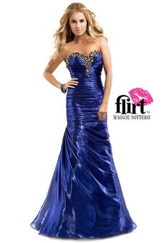 This shimmers! #Prom2014 Available now at Aurora Unique Bridal Boutique
