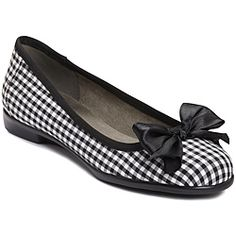 @Overstock - These enchanting ballet flats from A2 by Aerosoles flaunt an adorable fabric bow at the round toe and a cute checkered print. A springy footbed and flexible rubber sole lend added comfort to these stylish 'Becommend' flats.http://www.overstock.com/Clothing-Shoes/A2-by-Aerosoles-Womens-Becomend-Checkered-Ballet-Flats/6525718/product.html?CID=214117 Add to cart to see special price