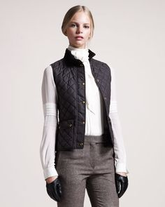 Weskit Quilted Vest by Belstaff at Bergdorf Goodman.