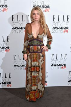 Immy Waterhouse aux Elle Style Awards 2016