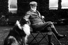 Andrew Carnegie Industrialist Tycoon on his birthday at Skibo Castle. Welsh Sheepdog, Shetland Sheepdog Puppies, Rough Collie, Collie Dog, Scotch Collie, English Shepherd, Andrew Carnegie, Dog Information, Loyal Friends