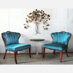 Hollywood regency chairs.