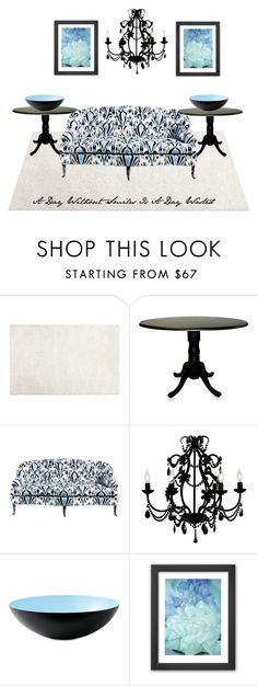"""""""Living Room #3"""" by mamasgirl1202 ❤ liked on Polyvore featuring interior, interiors, interior design, home, home decor, interior decorating, Pier 1 Imports, Carolina Chair, John Robshaw and Maura Daniel"""