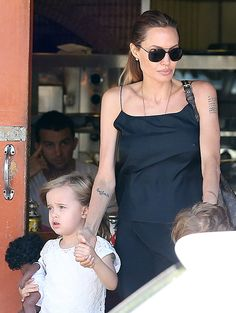 Angelina Jolie Steps Out With Twins Vivienne and Knox: Pictures - Us Weekly