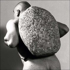 Jana Sterbak, Sisyphus, 1998. Courtesy Frac Haute-Normandie,  © Jana Sterbak. Photo Marc Domage
