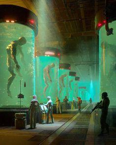 Dark Fantasy Art, Sci Fi Fantasy, Fantasy World, Dark Art, Arte Sci Fi, Sci Fi Art, Dystopian Art, Space Opera, Cyberpunk Aesthetic