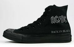 Converse Chuck Taylor 'AC/DC' & 'Metallica' - mashKULTURE
