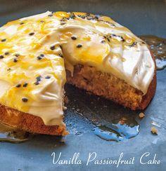 Vegan in Melbourne: Vanilla Passionfruit Cake