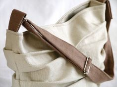 Heavy cotton bag - brown version chez.chizzi@gmail.com