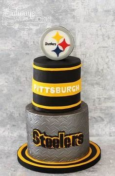 Steelers cake Cakes Pinterest Cake Pittsburgh steelers and