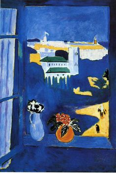 print for dining area Matisse - Landscape viewed from a Window, 1913