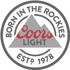 Brand New: New Logo and Packaging for Coors Light by Turner Duckworth Beer Table, Beer Pong Tables, Diy Table, Giant Beer Pong, Diy Cornhole Boards, Light Tattoo, Beer Packaging, Coors Light, Custom Stamps