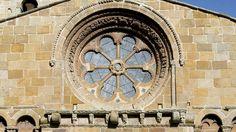 Rosetón en Iglesia de Santo Domingo