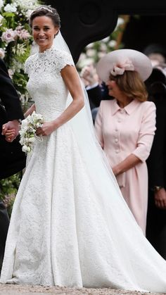 I love pippa wedding dress better than her sister. From head to toe is perfect. The makeup and the hair pieces too