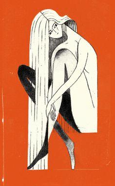 Pin-ups by Julianna Brion, via Behance